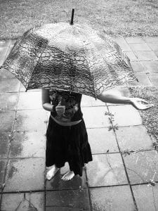 personal umbrella - rainy day