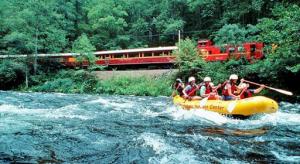 Rafting the Nantahala River